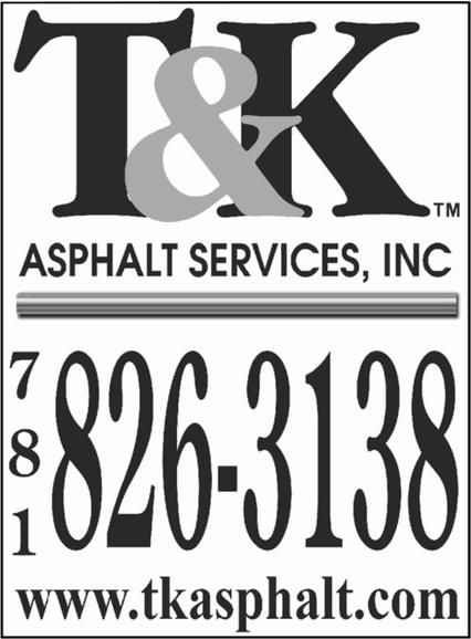 T&K Asphalt Services - 781.826.3138