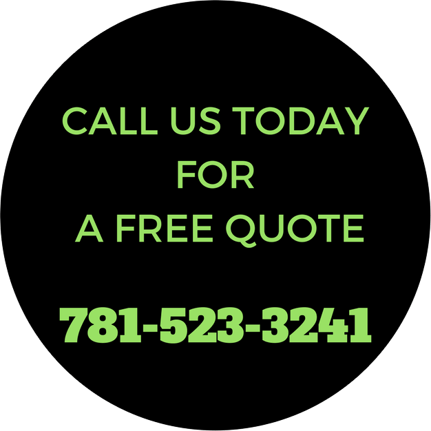 Call Today for a Free Estimate - 781.523.3241