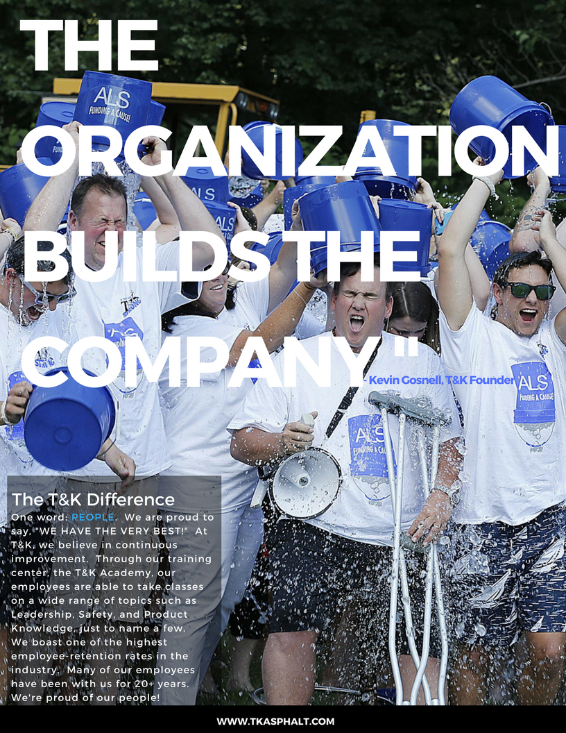 The Organization Builds the Company