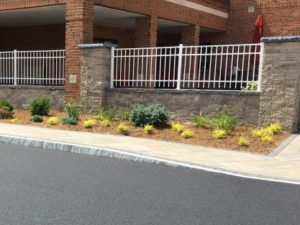Granite Curb Facing Entrance