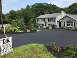 Another Quality Residential sealcoating job by T&K Asphalt