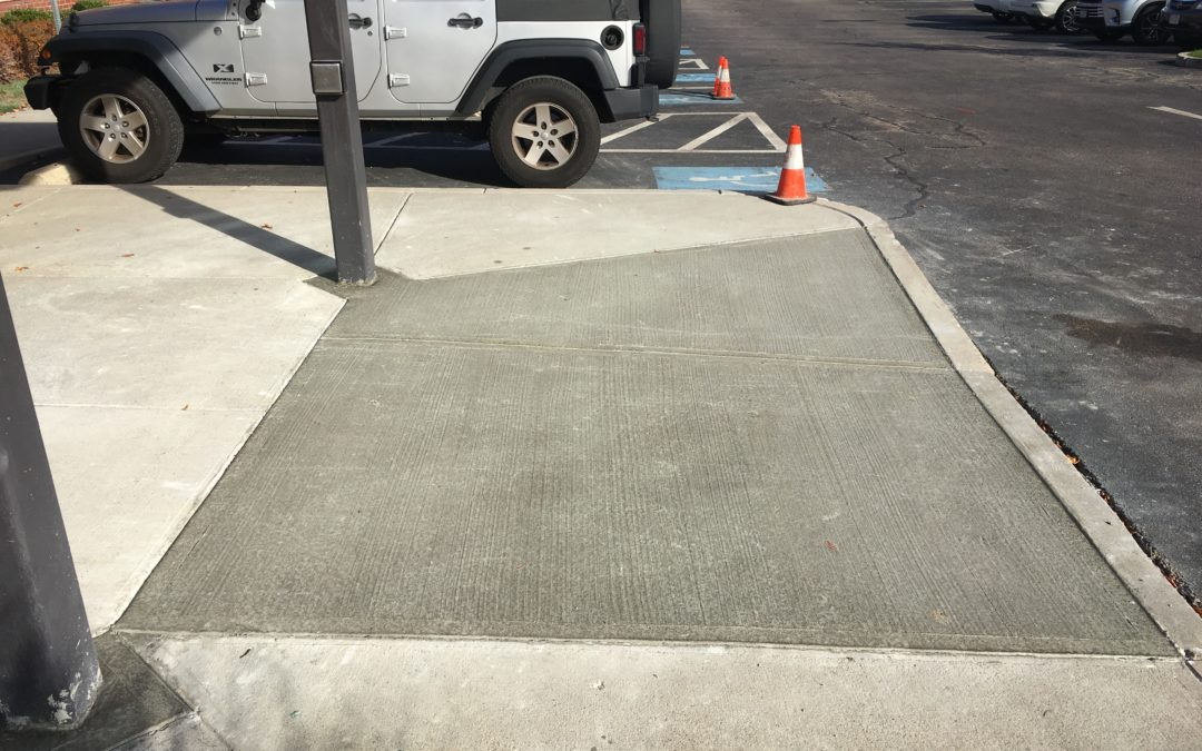 Keep Your Property's Concrete ADA Compliant With These 5 Tips