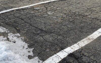 3 Ways Winter Weather Affects Your Asphalt Parking Lot